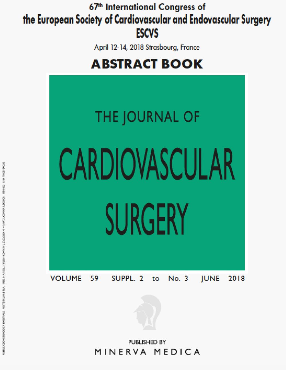 67th International Congress Of The European Society Of Cardiovascular And Endovascular Surgery ESCVS