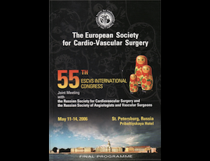 55. International Congress Of The European Society For Cardiovascular Surgery - Russia