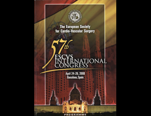 57. International Congress Of The European Society For Cardiovascular Surgery - Spain