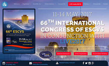 66. International Congress Of The European Society For Cardiovascular Surgery - Greece